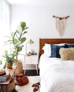 boho bedroom inspiration - My Style Vita @mystylevita