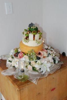 Wedding cheese cake