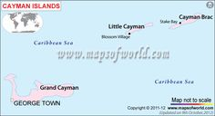 #CaymanIsland political map