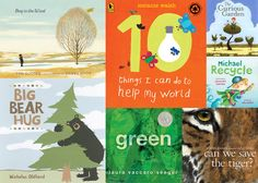 books are a good way to introduce your future environmentalist to issues like protecting endangered species, recycling, and Earth Day Activities, Book Activities, Best Children Books, Childrens Books, Parenting Books, Kids And Parenting, Recycling For Kids, Save The Tiger, Eco Kids