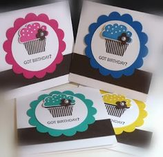 Lots of cute card ideas-using stamps and punches