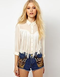 Women's tops | Women's shirts, blouses, camisoles | ASOS Country Fashion, Boho Fashion, Fashion Looks, Fashion Outfits, Womens Fashion, Western Outfits, Western Shirts, Western Wear, Chemises Western
