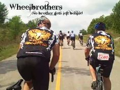 Wheelbrothers on one of their many Texas Bike Rides