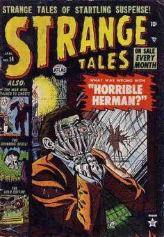 Tales to Astonish Issue # 1 (Marvel Comics) Horror Comics, Horror Art, Scary Comics, Marvel Heroes, Marvel Comics, Comic Book Covers, Comic Books, Comic Art, Marvel Masterworks