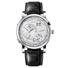 A. Lange & Sohne Lange 1 Time Zone Manual Platinum (116.025)