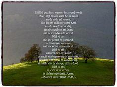 Gebed van Maarten Luther.