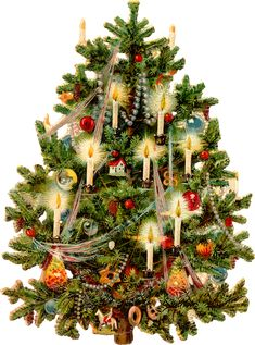 Victorian tree printable 2