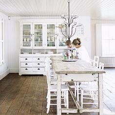White French Farm | white kitchen french farmhouse » Bayside Vintage