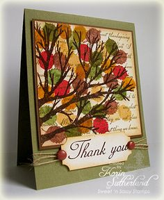 Sweet 'n Sassy Stamps: Like a Tree Planted by Streams