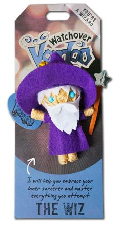 "Watchover Voodoo Dolls - The Wiz ""I will help you embrace your inner sorcerer and master everything you attempt"""