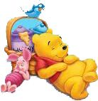 """Piglet and Pooh Napping. """"Winnie the Pooh and Friends"""" Disney Winnie The Pooh, Winnie The Pooh Pictures, Winnie The Pooh Christmas, Winnie The Pooh Quotes, Winnie The Pooh Friends, Cute Disney, Baby Disney, Disney Art, Eeyore"""