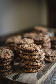 Oatmeal Hazelnut Chocolate Chip Cookies (With Nutella)