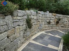 Granit Mauerstein