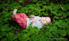 Beautiful #BabyPortrait in the #Redwoods of the #SantaCruzMountains