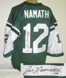Joe Namath Signed New York Jets Jersey .  475.00. Joe Namath hand-signed New 4c8d527db