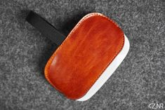 Leather Felt Apple Magic Mouse Case Hand-made Dyed Hand Wax, Honey Brown, Apple Magic, Magic Mouse, Stitching Leather, Vegetable Tanned Leather, Cow Leather, Color Show, Wool Felt