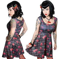 Women's Kreepsville 666 Cherry Skull Marilyn Flare Dress ... https://www.amazon.com/dp/B01DYH10X6/ref=cm_sw_r_pi_dp_x_-.mkyb7S5Z6NN