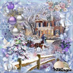 Sleigh Ride on Christmas   my Art   Jane's Doll Closet