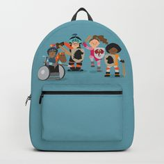 Knight kids Backpacks by Ayelet Bar-Noy :: ReadyMake Studio. Worldwide shipping available at Society6.com. Just one of millions of high quality products available.