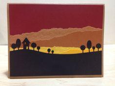 Design by Lauren M. Vaillencourt.  Die: Memory Box Modern Landscape Border.