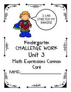 Does your kindergarten class use Houghton Mifflin Math Expressions Common  Core? Do some of your