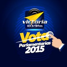 #Victoria1039FM los invita a conectarse este próximo #6D con la jornada especial #Parlamentarias2015 a través de nuestra señal. #VOTA y mantente atento a #TuRadioVialInformativa.