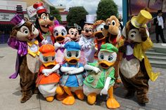 Mickey & Friends at Disney Character Central