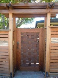 Fence Wall Interior front yard fence with gate.Horizontal Fence Home Depot. Wooden Garden Gate, Garden Gates And Fencing, Wooden Gates, Fence Gate, Wooden Fence, Rustic Fence, Pallet Fence, Diy Fence, Metal Fence