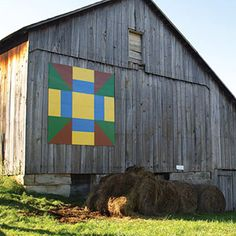 Vinton County, Ohio  Tucked deep in Southern Ohio, this woodland gem is known for its scenic driving tours and beautiful barn quilts. Three driving loops--30 miles, 35 miles and 70 miles long--lead past different barn quilts. A five-generation family farm displays Farm Friendliness (