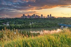 To everyone that always asks me why I live in Edmonton, here is just a little taste.