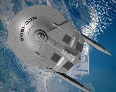 Star Trek Bridge Commander pic The USS Reliant awaits her orders to begin the Genesis Expedition in orbit above San Francisco USS Reliant by Michael Wil. Scotty Star Trek, Trek Ideas, Star Trek Bridge, Arte Sci Fi, History Of Television, Starfleet Ships, Spaceship Art, Star Trek Starships, Star Trek Movies