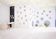 Sala w przedszkolu - Pokój dziecka - Styl Skandynawski - JUSSS