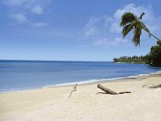 Strand auf Cayo Levantado