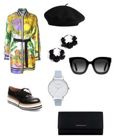 """Untitled #15"" by maria-daria-i on Polyvore featuring Versace, Oscar de la Renta, Steve Madden, Olivia Burton, Gucci and Givenchy"