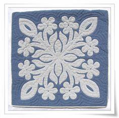 hawaiian quilt pillow cover