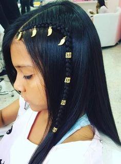 Me encanta y aty Curly Hair Braids, Braids For Short Hair, Curly Hair Styles, Natural Hair Styles, Little Girl Hairstyles, Up Hairstyles, Pretty Hairstyles, Toddler Hair Dos, Business Hairstyles
