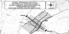 Kuzey Marmara Otoyolu Rumelifeneri imar planı askıda