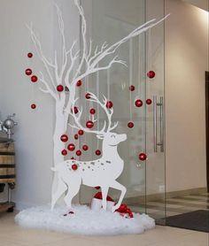 Easy Christmas Decorations, Easy Christmas Crafts, Christmas Wood, Diy Christmas Ornaments, Outdoor Christmas, Christmas Projects, Simple Christmas, Christmas Wreaths, Snowman Tree