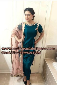 #NewCollectionOfPajamiSuit #PartyWearPajamiSuitOnline #StylishPajamisuitOnline #DesignerPajamisuitOnline Maharani Designer Boutique To buy it click on this link http://maharanidesigner.com/Anarkali-Dresses-Online/pajami-suits-online/ Rs-6000 Pure Silk Machine Work Available in All Colors Fine Quality fabric For any more information contact on WhatsApp or call 8699101094 Website www.maharanidesigner.com