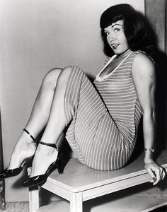 I've always admired Bettie Page for her honesty as well as her figure! May she live forever in cyberspace!