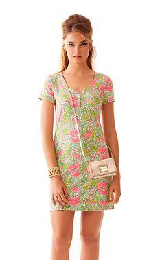 91503 - Britton Short Sleeve Henley Dress