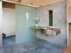 Concrete Bathroom Urban Es Designer Takes On Modern Minimalist And Looks