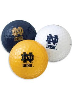 Notre Dame Golf Balls 2014 ACC Golf Championship Participant at the Old North State Club Uwharrie Point.