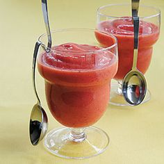 Family Breakfast Recipes | Icy Tropical Smoothies | CookingLight.com