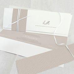 Hochzeitspapeterie - Einladungskarten, Danksagungskarten, Menü...