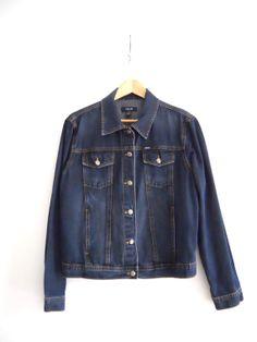 Vintage IZOD Denim Jacket XL UNISEX by Continual on Etsy, $30.00