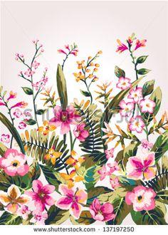 Flower Pattern Stok Fotoğraflar, Görseller ve Resimler   Shutterstock
