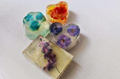 DIY Flower Glycerin Soap - personal / lifestyle /DIY