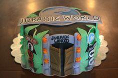 Jurassic World Cake #jurassicworld