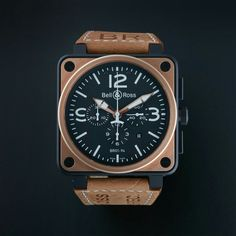 BELL & ROSS AVIATION AUTOMATIC // BR01-94 // PRE-OWNED